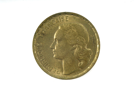 twentieth: French currency of the twentieth century 50 francs