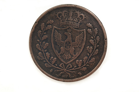 cents: 5 cents, 1826 Italian currency