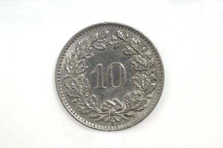 helvetica: 10 Switzerland helvetica Coin