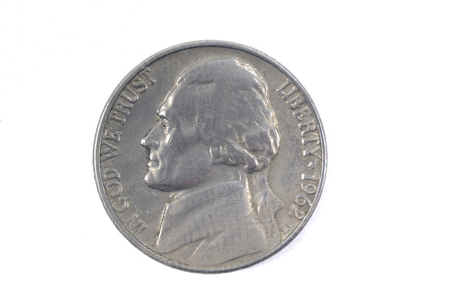 five cents: Five cents USA 1962