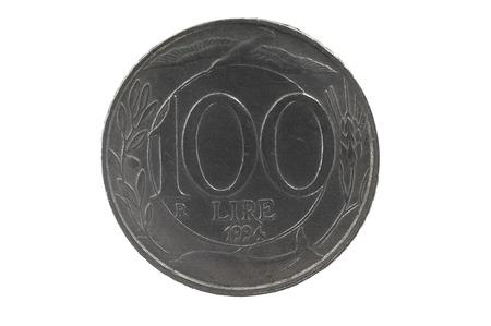 lira: 100 lira, Italian Republic