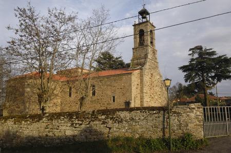 zamora: Nuestra Señora de la Asunción, Villardeciervos, Zamora province, Castilla y Leon,Spain Stock Photo