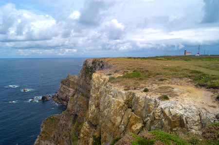 cantabria: Cape of Peñas, Cantabria; Spain; Stock Photo