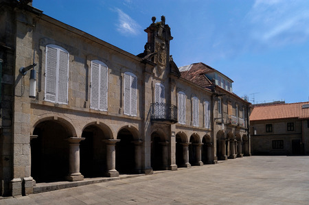 galicia: Pazo Mugartegui, town hall Pontevedra, Galicia,Spain
