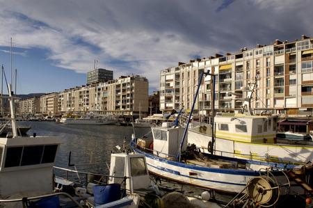 toulon: view of Toulon, French Ribiera, France Stock Photo