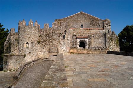 cantabria: Santa Maria of the Angels of San vicentede la Barquera, Cantabria, Spain,