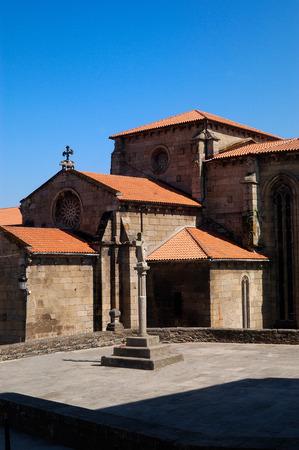 galicia: Church of San Francisco, Betanzos, A Corua, Galicia, Spain Stock Photo