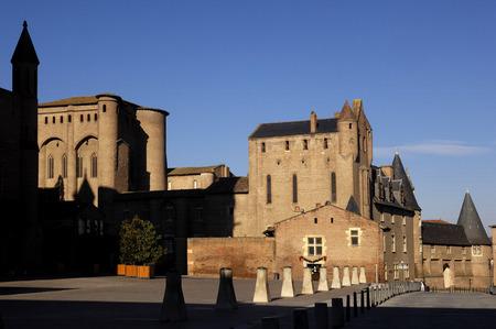 tarn: Cathedral , Albi,Midi-Pyrenees, Tarn,France