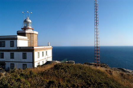 buiding: lighthouse of Cape Finisterre, A Coruña, Spain