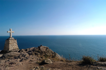 Kaap Finisterre, Galica, spanje, Stockfoto