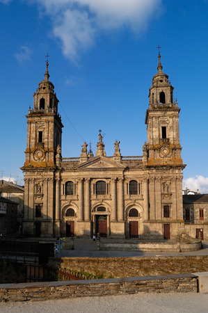jacobean: Cathedral of Lugo, Galicia,Spain