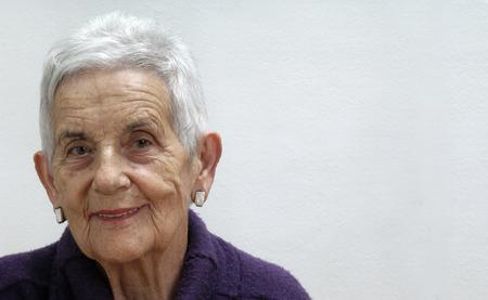 portrait: portrait of a senior woman