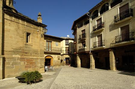 rioja: Square of Espa�a, Briones, La Rioja, Spain