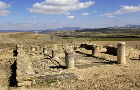 navarra: Impluvium, Andelos (Roman city) ,Mendigorria,Navarra,Spain