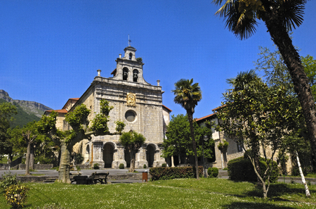 vizcaya: Sanctuary of  Antigua, Ordu�a, Vizcaya, Basque Country, Spain