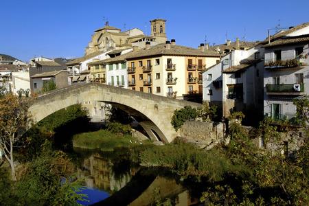 navarra: View of Estella, Lizarra, Navarra, Spain