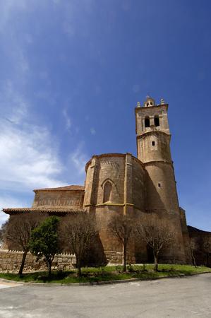 castilla y leon: church of Tordomar, Burgos, Castilla y Leon, Spain