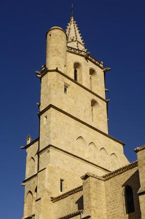 midi: Notredame des Miracle, Avignonet-Lauragais, Midi Pyrenees, France Stock Photo