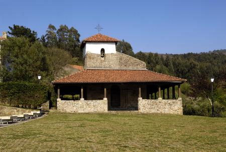 san pedro: San Pedro church ,Bakio, Basque Contry, Spain