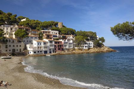 sa: Sa Tuna Beach in Begur, Costa Brava, Girona, Catalonia, Spain Stock Photo