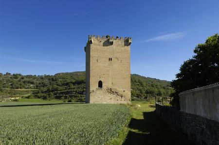 alava: Tower of  Condestable de Fontecha, Alava, Basque Contry,Spain