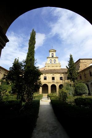 rioja: Cistercian Abbey of CaÃ??, ? ? as, La Rioja, Spain