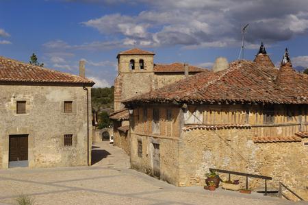 goshawk: Village of Catala�? ? goshawk, Soria province, Castilla y León, Spain