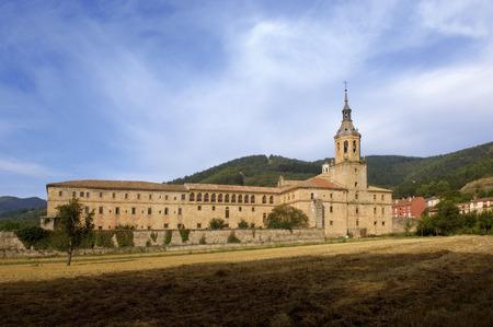 Yuso Monastery, San Millan de la Cogolla, La Rioja, Spain Banco de Imagens