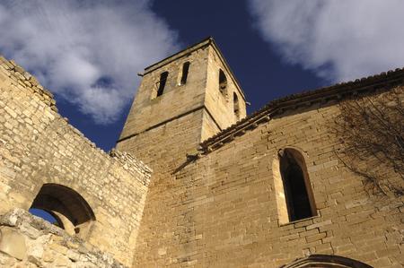santa maria: Santa Maria church, Guimera, Lerida province, Spain