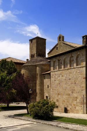 navarra: Monastery of San Salvador de Leyre, Navarra, Spain,