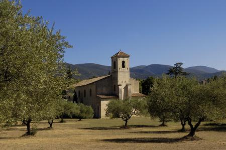 lourmarin: Church of Lourmarin, Provence, France