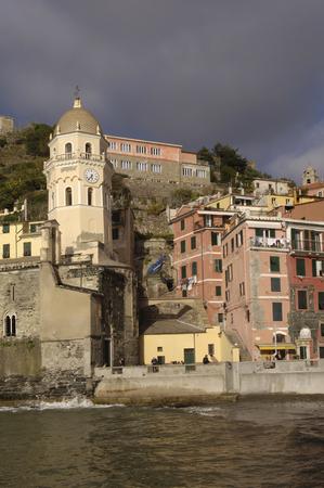 cinque: Vernazza, Cinque Terre, Italy