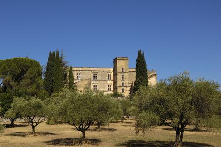 lourmarin: Castle of Lourmarin, Provence Alpes Cote dà ¢ â,¬â ¢ Azur, France Editorial