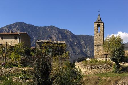 alt: Arseguel, Arseguell, Alt Urgell, Pyrenees mountains, Lleida, Spain