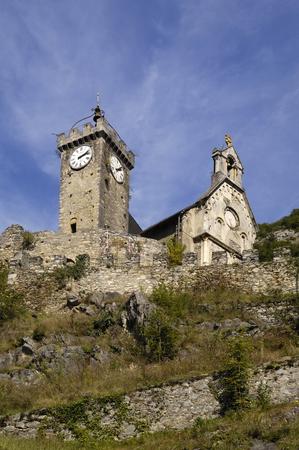 midi: Castle, Saint Beat, Midi Pyrennes, France Stock Photo