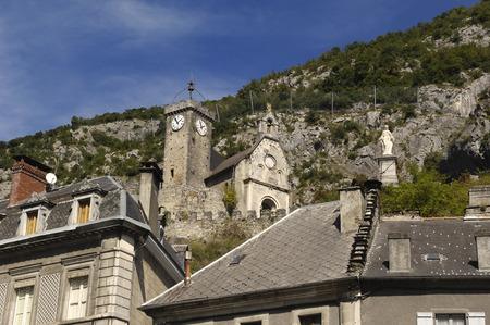 beat: Church of Saint Beat, Midi-pyrenee, France