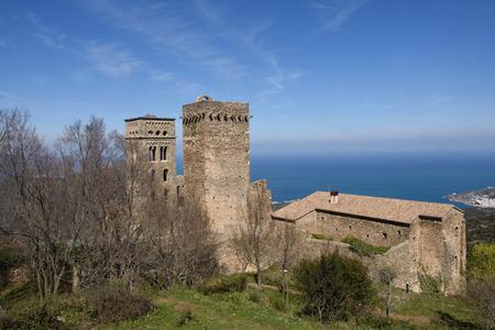 benedictine: Benedictine monastery of Sant Pere de Rodes, Girona province, Catalonia, Spain