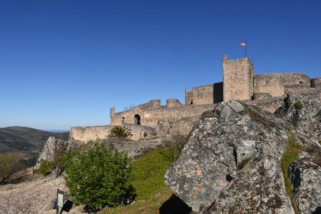 alentejo: walls of Castle of Marvao, Alentejo region, Portugal