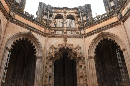 vitoria: Unfinished Chapels at Monastery of Santa Maria da Vitoria, Batalha Monastery, Centro region, Portugal