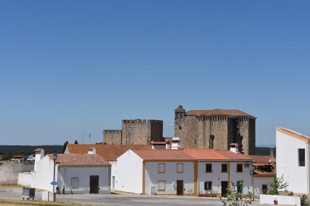 da: Monastery of Flor da Rosa, Alentejo region, Portugal