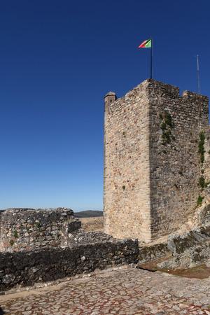 alentejo: Tower  of Castle of Marvao, Alentejo region, Portugal