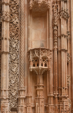 uncompleted: Detail of  Unfinished Chapels at Monastery of Santa Maria da Vitoria, Batalha Monastery, Centro region, Portugal