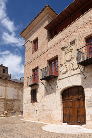 castile leon: The Houses of the Treaty in Tordesillas, Valladolid province, Castilla y Leon, Spain