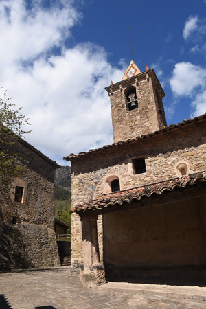 romanesque: Romanesque church of Joanetes, Garrotxa, Girona province, Catalonia, Spain