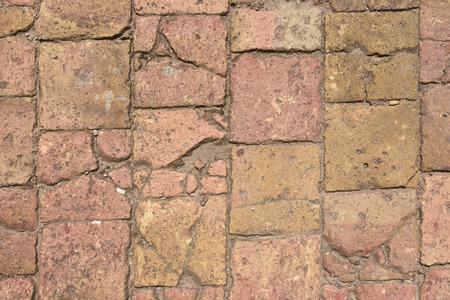 tiles floor: terracotta floor Stock Photo