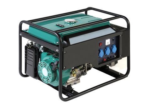 Portable Power generator (Fuel) Фото со стока