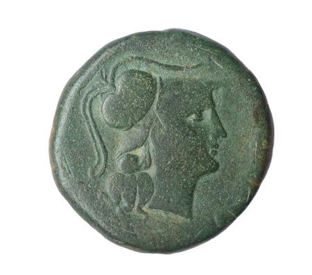 Iberian As of  Ampurias Century II B.C Front: Head Palas