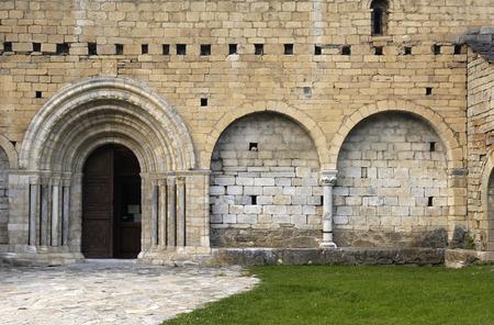 aran: Romanesque  church of Sant Andreu, Salardu, Aran Valley, Lleida province Catalonia, Spain