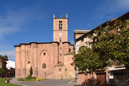 rioja: Santa Maria La Real Monastery, Najera. La Rioja. Spain, Editorial