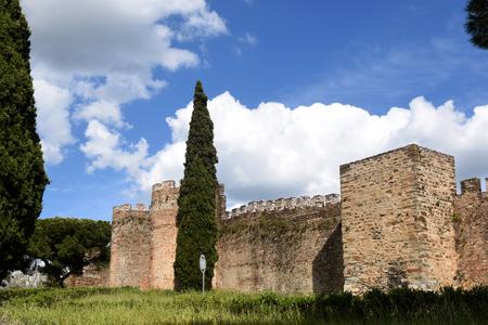 buiding: Castle of Vila Vicosa, Alentejo Region, Portugal Editorial